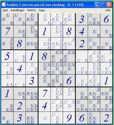 Sudoku Puzzel